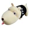 ตุ๊กตาสุนัขดับกลิ่นในรถยนต์ (สีดำ)