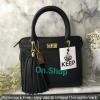 KEEP saffiano office hand bag with frink key สวย น่ารัก