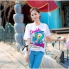 Lady Ribbon's Made Lady Isabel Cute Disney Donald Duck Print T-Shirt