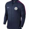 เสื้อแจ็คเก็ตแมนเชสเตอร์ ซิตี้ สีกรมท่า Manchester City Squad Track Jacket