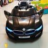 3181BK รถแบตเตอรี่ไฟฟ้า BMW I8 2 มอเตอร์ สีดำ