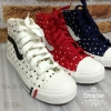 336)New ผ้าใบเกาหลี ลาย POKA DOT สุดยอดขายดี