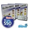 En-Dex 8000 (พิเศษ!!สั่งซื้อ10กล่องในราคา550บาท)