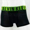 กางเกงในชาย Calvin Klein Boxer Briefs : INTENSE สีดำ ขอบเขียว