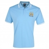 เสื้อโปโล แมนซิตี้ ของแท้ 100% Manchester City Essential Euphoria Crest Polo Top - Sky จากสโมสรแมนซิตี้ UK สำหรับสวมใส่ เป็นของฝาก ที่ระลึก ของขวัญ แด่คนสำคัญ