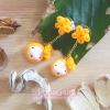 Pupa gang Thai dessert : Thong yip (ทองหยิบ)