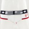กางเกงในชาย ES Briefs : 58 ขอบขาว สีขาว