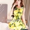 Peach&Lemon Dress by Seoul Secret