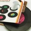 ที่รองแก้ว แผ่นเสียงไวนิล (Vinyl Record Coasters)