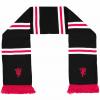 ผ้าพันคอแมนเชสเตอร์ ยูไนเต็ดของแท้ Manchester United Devil Bar Scarf Black Adult
