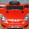 รถแบตเตอรี่เด็กนั่งไฟฟ้า ยี่ห้อโฟล์ค 2มอเตอร์ สีแดง