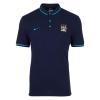 เสื้อโปโลแมนเชสเตอร์ ซิตี้ของแท้ Manchester City Authentic League Polo-Dark Obsidian