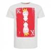 เสื้อทีเชิ้ตลิเวอร์พูลของแท้ Ecru Marl King Kenny Tee