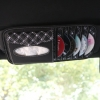 ซองใส่ CD และทิชชู่ VIP ยึดกับที่บ้งแดดรถยนต์