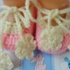 รองเท้าคัทชูสายผูกดอกไม้