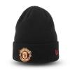 หมวกไหมพรมแมนเชสเตอร์ ยูไนเต็ด New Era สีดำ ของแท้