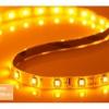 ไฟ LED แบบเส้น SMD ดวงเล็ก 60 ดวง/เมตร ยาว 5 เมตร (สีเหลือง)