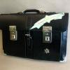 กระเป๋าถือนักเรียน ญี่ปุ่น High School แบบ 2 ตัวล็อค ขนาด 18 นิ้ว