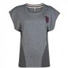 เสื้อแมนเชสเตอร์ ยูไนเต็ดของแท้ สำหรับสุภาพสตรี Manchester United Slouchy T-Shirt - Vintage Marl - Womens