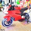 LNM1628S-R รถมอเตอร์ไซค์เด็กนั่งไฟฟ้า Ducati เบาะหนัง