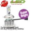 ไฟหน้า LED ขั้ว H4 Cree 3 ดวง 30W 3000lm