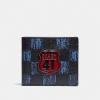 กระเป๋าสตางค์ผู้ชาย COACH 3-IN-1 WALLET WITH GRAPHIC CHECKER PRINT F27052