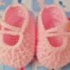 รองเท้าไหมพรมถักสำหรับทารกคลอดก่อนกำหนด