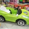 AB3756G รถสปอร์ตเด็กนั่งไฟฟ้าสีเขียว 1 มอเตอร์
