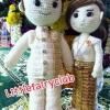 ตุ๊กตาแต่งงานชุดไทย