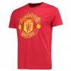 เสื้อทีเชิ้ตแมนเชสเตอร์ ยูไนเต็ด Core Crest T-Shirt - Red สีแดงของแท้