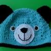 หมวกถักหูหมี