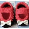 รองเท้าคัทชูทูโทนโบว์เล็ก