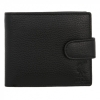 กระเป๋าสตางค์ลิเวอร์พูลของแท้ Black Leather Wallet