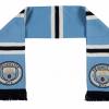ผ้าพันคอที่ระลึกแมนเชสเตอร์ ซิตี้ของแท้ Manchester City Shader Scarf - Sky