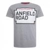 เสื้อทีเชิ้ตลิเวอร์พูลของแท้ Mens Grey Marl Anfield Road Tee