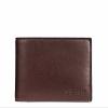 กระเป๋าสตางค์ผู้ชาย COACH COMPACT ID WALLET IN SPORT CALF LEATHER F74991 : MAHOGANY