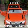 DK3646OR รถแบตเตอรี่ รถกระบะฟอร์ด FORD RANGER 2มอเตอร์ แบต 12V มีโช๊ค มี4สี แดง ขาว ดำ ส้ม