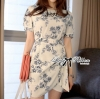 Lady Ribbon's Made Lady Gerrie Smart Elegant Flowery Dress