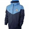 เสื้อฮู้ดแมนเชสเตอร์ ซิตี้ สีกรมท่า Manchester City Authentic Windrunner