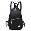 [ Pre-Order ] - กระเป๋าเป้แฟชั่น สีดำ ดีไซน์เก๋ๆ ปรับใช้ได้ 2 สไตล์ ช่องใส่ของเยอะ น้ำหนักเบา เหมาะสำหรับพกพา ที่ต้องการความคล่องตัว
