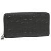 กระเป๋าสตางค์ผู้ชาย COACH MEN'S ACCORDION WALLET IN SIGNATURE LEATHER F58113 : BLACK