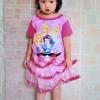 ชุดเจ้าหญิงดิสนีย์ เด็กเล็ก สีชมพู ไซส์ L