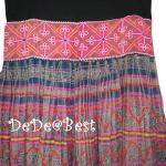 ขายแล้วค่ะ S4:2nd hand skirt กระโปรงชาวเขาปักลายสวย&#x2764