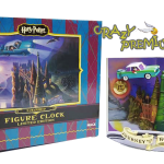 Harry Potter Clock limited edition - นาฬิกาตั้งโต๊ะเรซิ่น