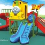 เครื่องเล่นสนาม ชุด รถไฟเพื่อนรัก ขนาด 280x350x250 cm.
