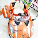 รถแบตเตอรี่เด็กนั่ง รุ่น LN6168 ยี่ห้อ Lamborghini สีส้ม