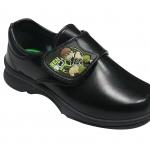 รองเท้านักเรียนเด็กชายอนุบาล ลาย Benten แบบเมจิกเทป