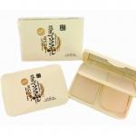 แป้งพัฟเต้าหู้ญี่ปุ่น 3ช่อง (Lideal three color powder)