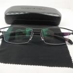 กรอบแว่นตา ไททาเนียม P8011N กรอบเทาดำ 55-17-139