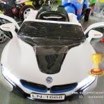 LN1668W รถแบตเตอรี่เด็กนั่งไฟฟ้า ยี่ห้อ BMW สีขาว 2m